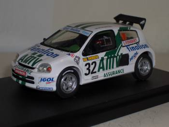 Renault Clio Trophy Andros 2000 - JPS 1/43