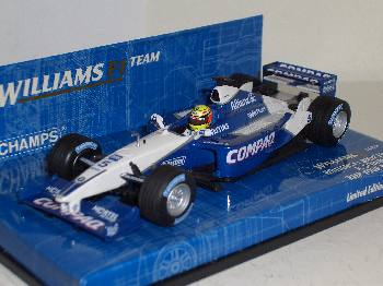 Williams FW23 Schumacher 2001 - Minichamps 1:43