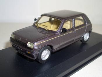 Renault_5_Laureate_1977- Mini Racing 1/43