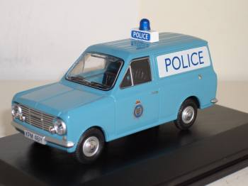 Bedford HA police GB - Oxford modelcar 1:43