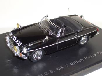 MG B MK II police Eagles police 1/43