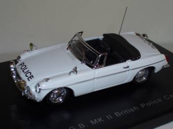 MG B MK II police GB -  Eagle's Race 1/43