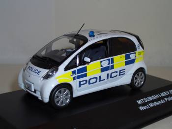 Mitsubishi i-MIEV Polizei 2009 - J-Collection 1/43