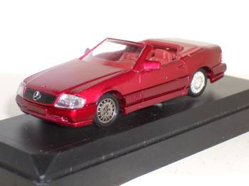 Mercedes 350 SL Cabriolet - car model 1:43