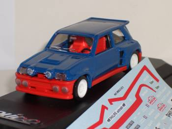 Renault 5 Maxi Tour de Corse - Solido model car 1/43